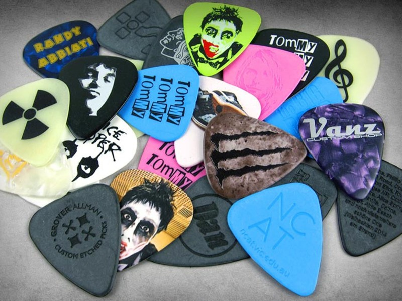 Printed Guitar Picks